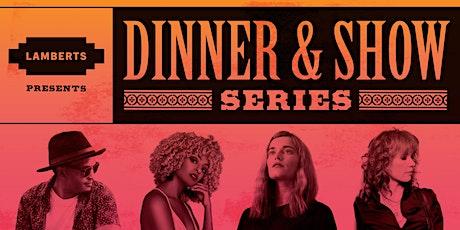 Dinner & Show: Aaron Stephens tickets