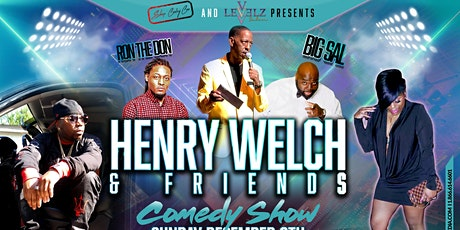 Henry Welch & Friends Comedy Show tickets