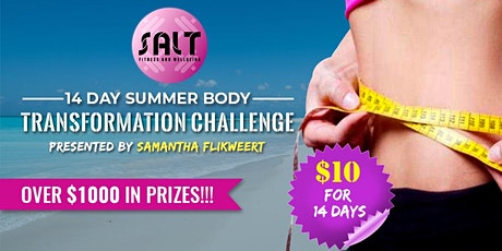 14 Day Summer Body Transformation Challenge tickets