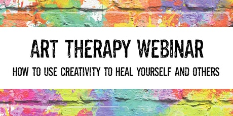 Art Therapy Webinar with Certificate & Free Creative Journal tickets