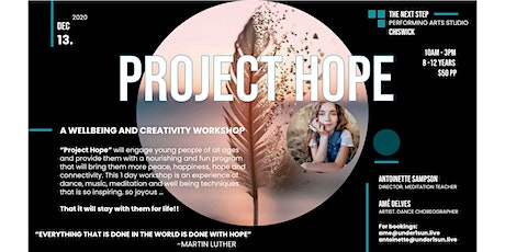 Project Hope 1-Day Creativity and Wellbeing Workshop 8-12 year olds tickets