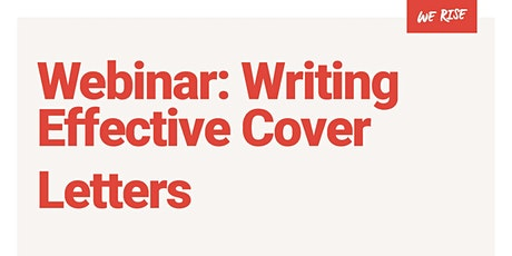 Writing Effective Cover Letters tickets