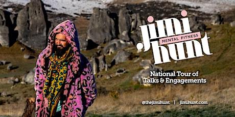 Jimi Hunt - Mental Fitness Talk - New Plymouth tickets