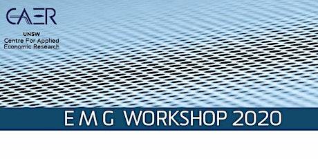 EMG Workshop 2020 tickets