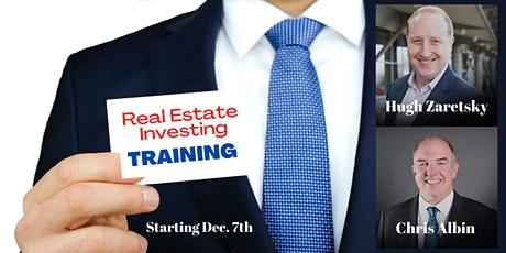 REAL ESTATE TRAINING  - 10 HOUR WORKSHOP WITH REAL INVESTORS tickets
