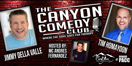 Jimmy Della Valle & Tim Homayoon  - Comedy In The Courtyard Oxnard tickets