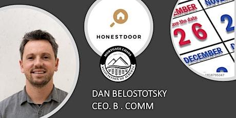 *MLAA* Webinar Series with Honest  Door  CEO Dan Belostotsky tickets