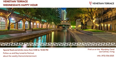 VENETIAN TERRACE HAPPY HOUR tickets