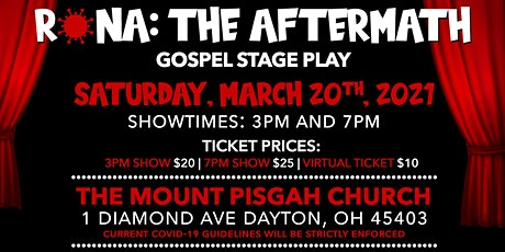 RONA:The After Math   A Gospel Stage Play (COVID_SAFE THEATER) tickets