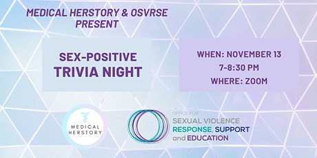 Sex-Positive Trivia! tickets