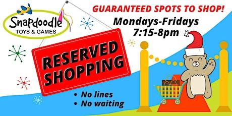 Reserved Shopping - Redmond tickets
