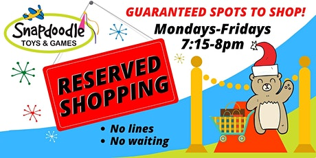Reserved Shopping - Issaquah tickets