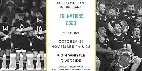 ALL BLACKS FANS IN BRISBANE MEET UP TRI NATIONS #ARGvsNZ tickets
