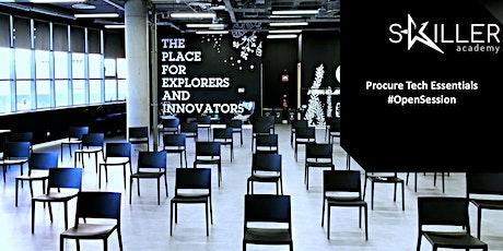 Procure Tech Essentials #OpenSession #Formación #hibrido entradas
