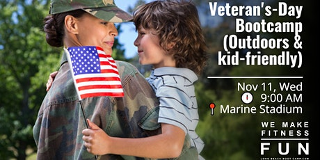 Veteran's Day Bootcamp (Outdoors & kid-friendly) tickets