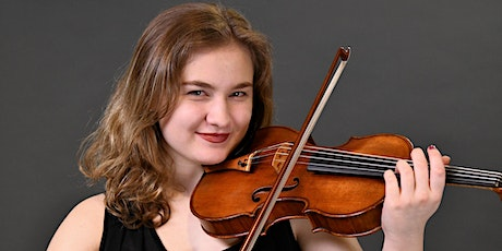 Third Thursdays - a virtual house concert with Masha Lakisova, violin tickets