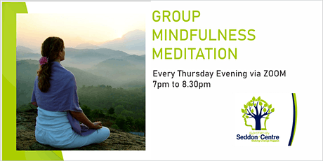 GROUP MINDFULNESS MEDITATION tickets