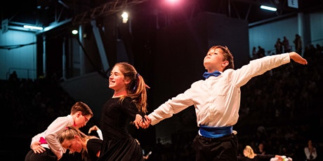 (SESSION 2)  Dancesport Confidence Competition on 12th December 2020 tickets