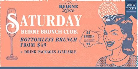 Saturday Brunch Club - Beirne Lane tickets