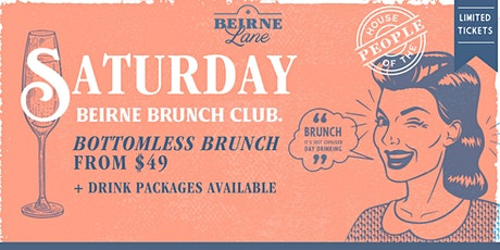 Saturday Brunch Club - Beirne Lane tickets