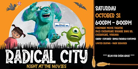 Halloween at the MOVIES tickets