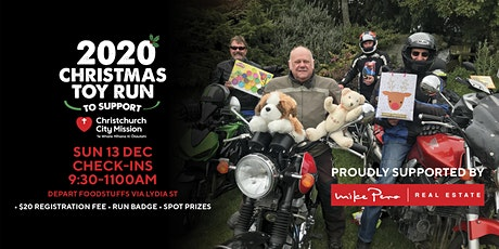 Christchurch Christmas Toy Run 2020 Sponsored by Mike Pero Real Estate tickets