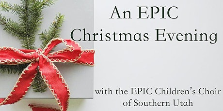 An EPIC Christmas Evening tickets