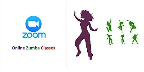 Online Zumba Class (Sun) - 60min. tickets