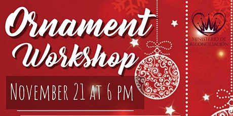 Ornament Workshop tickets