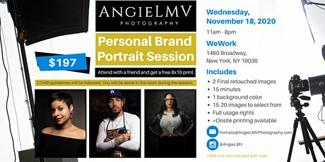 Personal Brand Photo Session with @AngieLMV tickets
