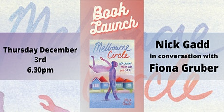 Book Launch - Melbourne Circle by Nick Gadd tickets