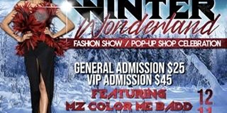 Winter Wonderland Fashion Show tickets