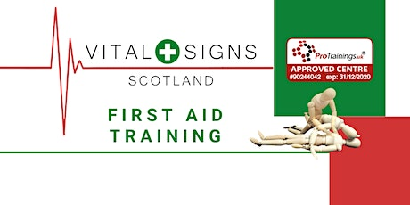 3-Day Scottish First Aid at Work (SCQF Level 6) - FAW (Limited places) tickets