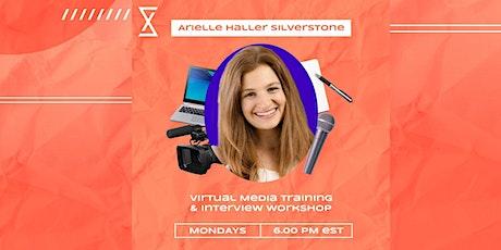 SocietyX : Virtual Media Training & Interview Workshop tickets