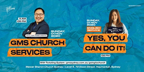 Sunday Live Service 1 (w/ Eagle Kidz) @ 11am -  1 November 2020 tickets