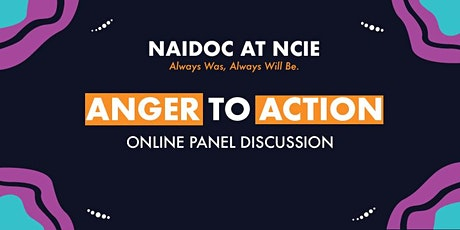 Anger to Action Panel Discussion tickets