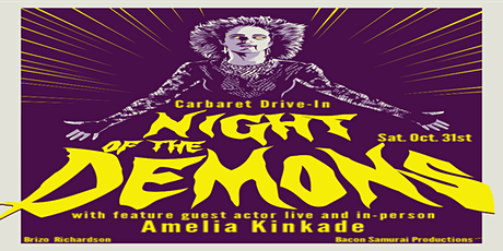 Carbaret Halloween featuring Night of the Demons with Amelia Kinkade live tickets