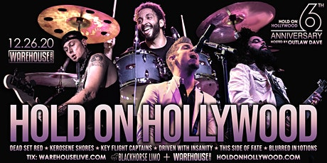 HOLD ON HOLLYWOOD - 6th ANNIVERSARY SHOW tickets