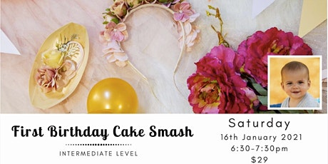 Ollie's First Birthday Cake Smash tickets