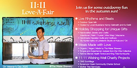 11/11 Love-A-Fair: Outdoors Live Music, Arts & Crafts, and Artisan Vendors tickets