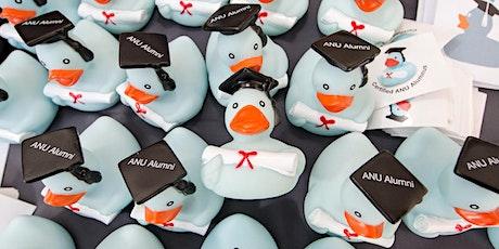 ANU  Alumni | Book-a-duck (registrations close 11pm, Thursday 19 Nov AEDT) tickets
