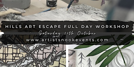 Hills Art Escape Full Day Retreat tickets
