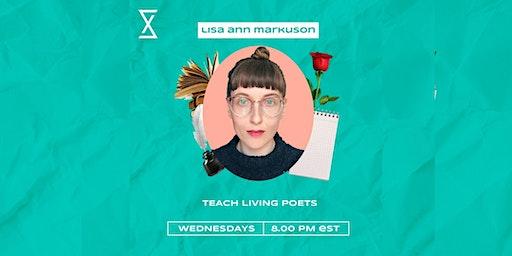 SocietyX : Teach Living Poets
