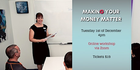 Making Your Money Matter - online tickets