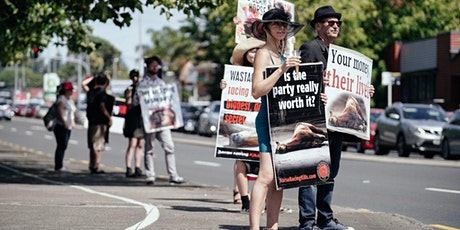 AUCKLAND: Melbourne FuCup Protest tickets