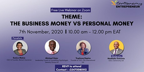 The Business Money vs Personal Money tickets