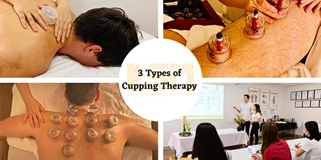 WEDNESDAY 9th December Certificate in Cupping Therapy/Myofascial Cupping tickets