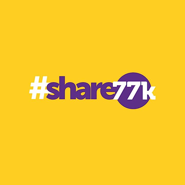 #share77k Charity Xmas Quiz 2020 image