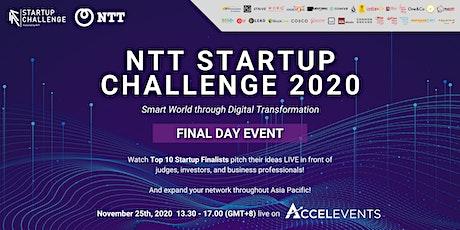 NTT Startup Challenge 2020 tickets