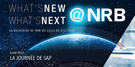 30/11 : LA JOURNÉE DE SAP billets